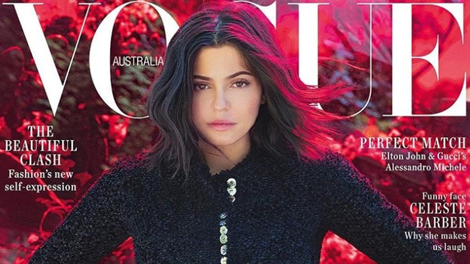 Kylie Jenner lands her first Vogue cover for the publication's Australian brand.