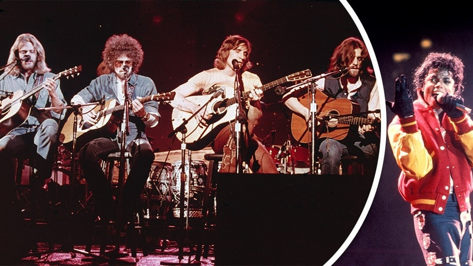 """The Eagles' greatest hits album beats Michael Jackson's """"Thriller"""" as No. 1 all-time album."""