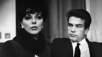 Joan Collins and Warren Beatty, April 1999. (Photo by Michael Ward/Getty Images)