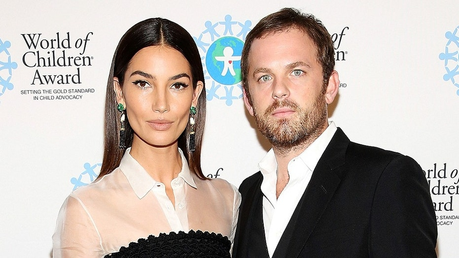 Lily Aldridge and her husband Caleb Followill in 2016.