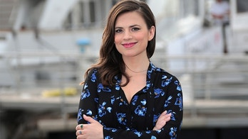"Actress Hayley Atwell poses during a photocall for the television series ""Conviction"" during the annual MIPCOM television programme market in Cannes, France, October 17, 2016. REUTERS/Eric Gaillard - LR1ECAH0OT70C"