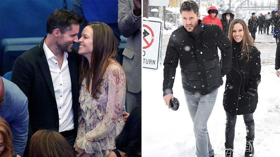 Hilary Swank married fiance Philip Schneider in a 'timeless' ceremony.