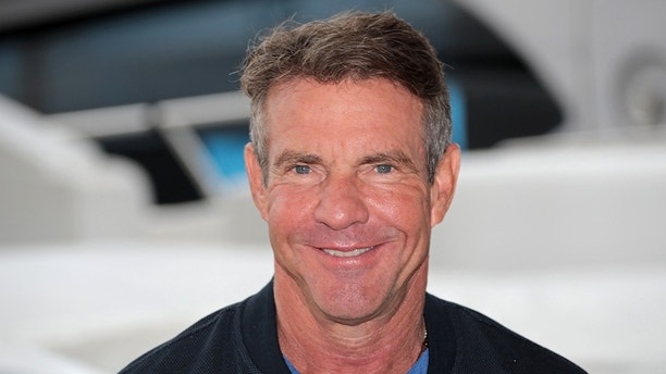 Actor Dennis Quaid poses during a photocall for the television series
