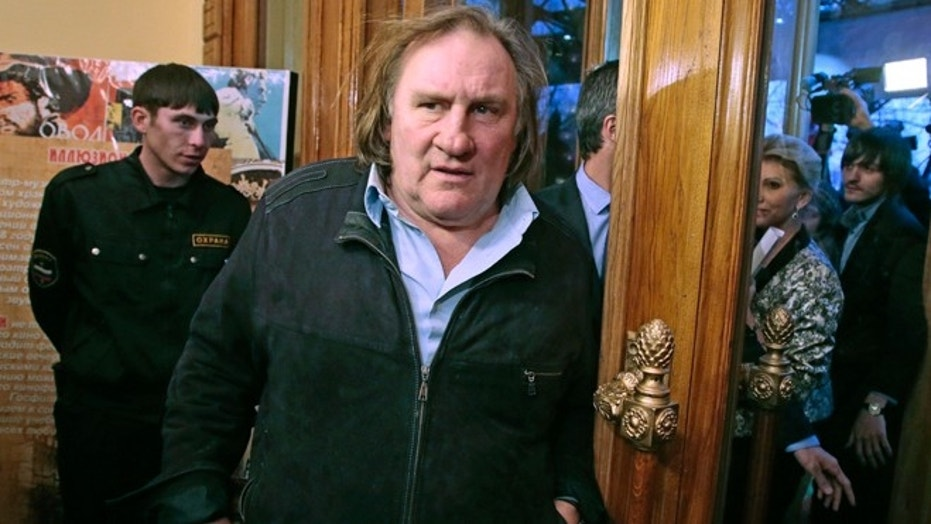 Gérard Depardieu accused of raping young actress