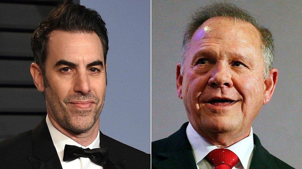 """Roy Moore is suing Sacha Baron Cohen over a controversial interview the comedian did with the judge on the """"Who is America?"""" television show."""
