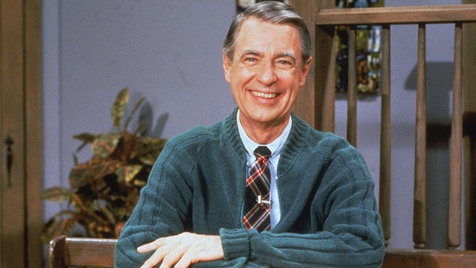 "Portrait of American educator and television personality Fred Rogers (1928 - 2003) of the television series ""Mister Rogers' Neighborhood,"" circa 1980s."