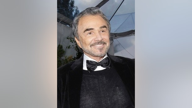 """FILE - In this Jan. 27, 2008 file photo, Burt Reynolds appears in Los Angeles. Reynolds, who starred in films including """"Deliverance,"""" """"Boogie Nights,"""" and the """"Smokey and the Bandit"""" films, died at age 82, according to his agent.  (AP Photo/Kevork Djansezian, File)"""