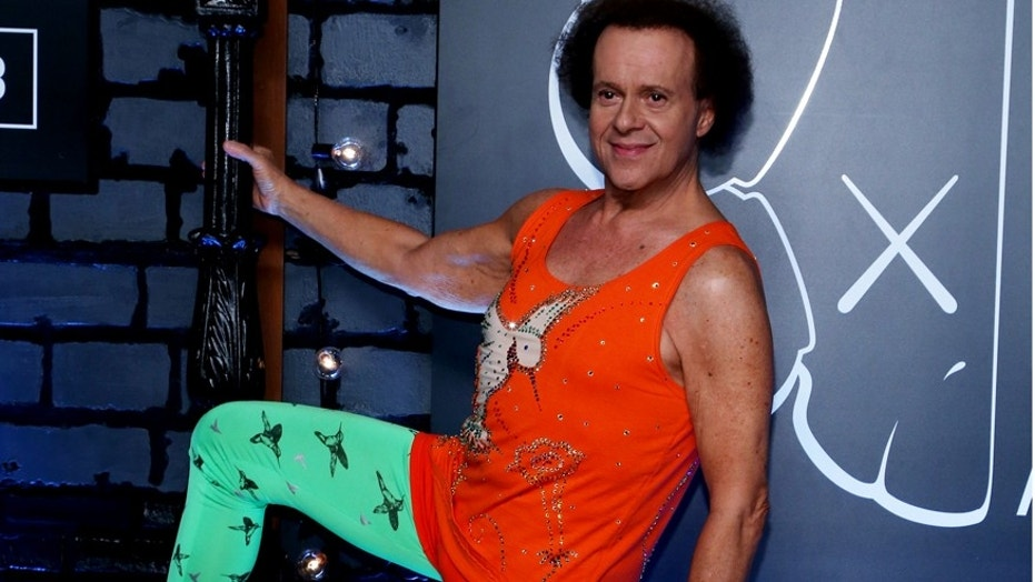 Richard Simmons will not be the one selling his merchandise on his new shopping channel.