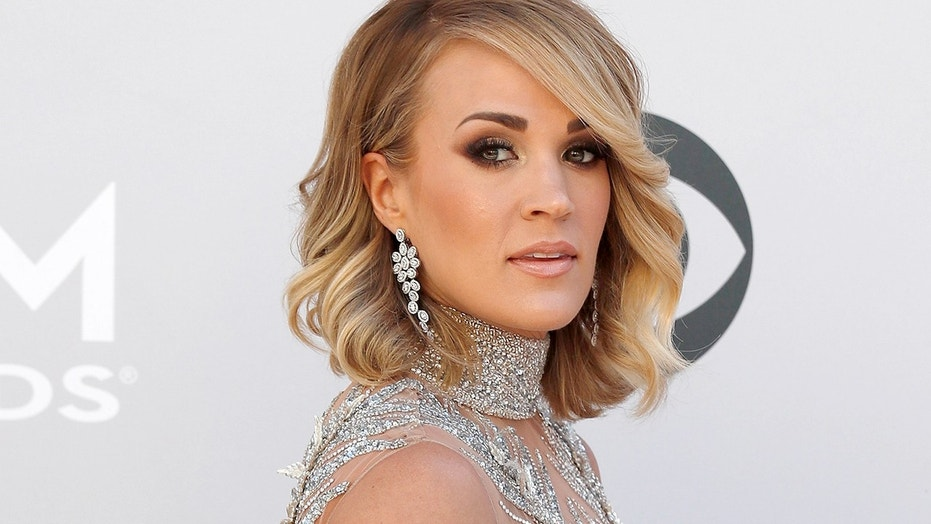 Carrie Underwood, pictured here in Feb. 2017, is set to receive a star on the Hollywood Walk of Fame.