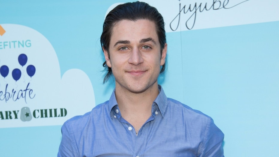 David Henrie, here in a 2016 photo, was going through a security screening at LAX Monday morning when agents reportedly discovered an M&P Shield 9mm pistol that was loaded.