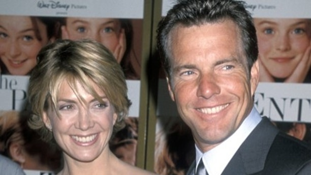 Natasha Richardson and Dennis Quaid (Photo by Ron Galella/WireImage)