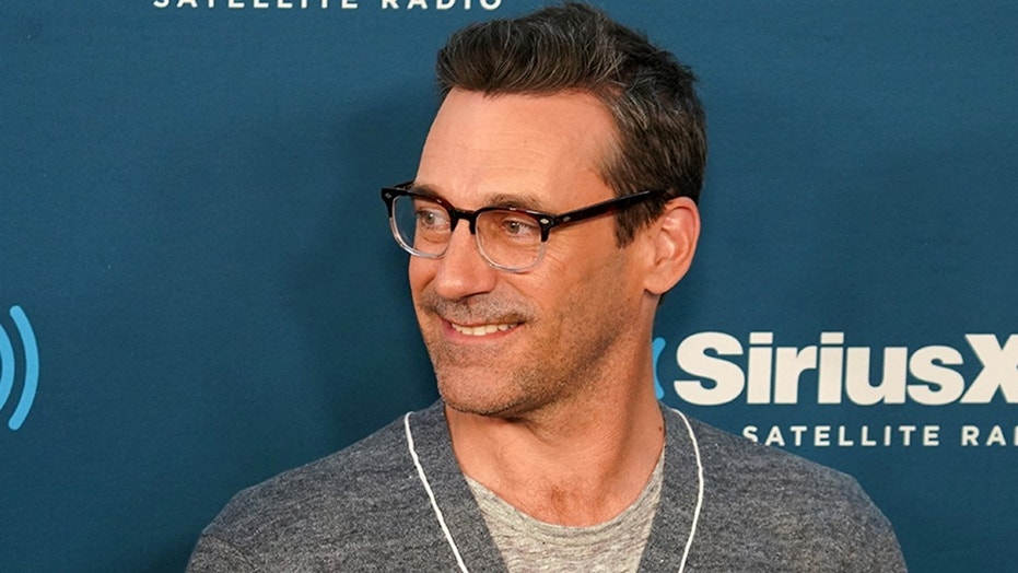 """Former """"Mad Men"""" star Jon Hamm recently addressed rumors that he could be next to play Batman."""