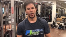 Mark Whalberg at the Gym. FACEBOOK