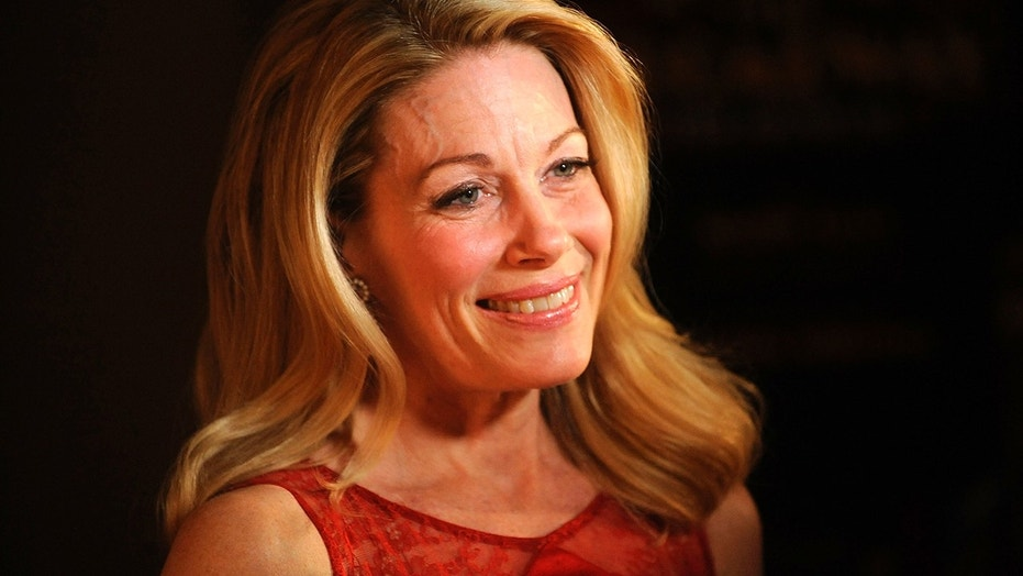 """In this April 10, 2014 file photo, actress Marin Mazzie attends the after party for the opening night of """"Bullets Over Broadway"""" in New York. Mazzie, who battled ovarian cancer starting in 2015, died Thursday, Sept. 13, 2018, at her Manhattan home, said her husband, actor Jason Danieley. She was 57."""