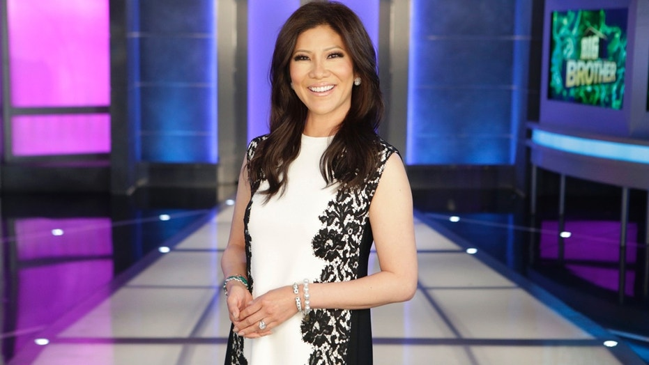 """Julie Chen returned to host """"Big Brother"""" on Thursday, just days after her husband, Les Moonves, resigned from CBS."""