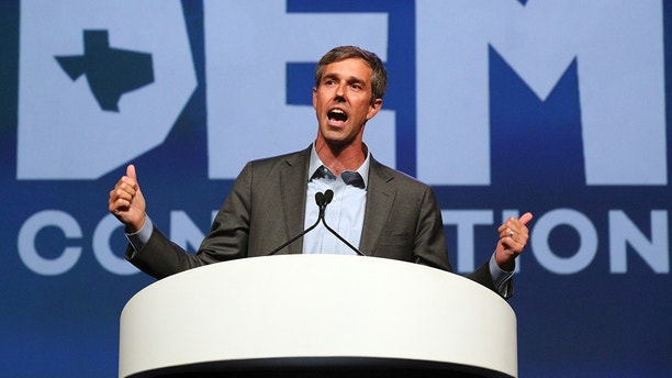 FILE - IN this June 22, 2018 file photo, Beto O'Rourke speaks during the general session at the Texas Democratic Convention in Fort Worth, Texas. Police documents reveal previously unreported details about a decades-old drunken-driving arrest of the Democratic Senate candidate.  O'Rourke has long acknowledged the 1998 drunken-driving arrest, saying he made a serious mistake. (AP Photo/Richard W. Rodriguez, File)