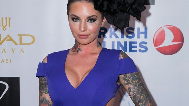Christy Mack attends the Face Forward Foundation's Charity Gala supporting victims of domestic abuse at Millennium Biltmore Hotel on September 13, 2014 in Los Angeles, California.
