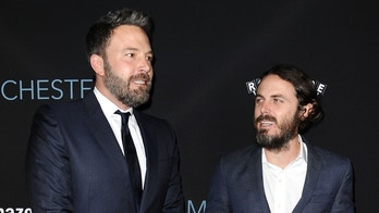 "BEVERLY HILLS, CA - NOVEMBER 14:  Ben Affleck and Casey Affleck attend the premiere of ""Manchester by the Sea"" at Samuel Goldwyn Theater on November 14, 2016 in Beverly Hills, California.  (Photo by Jason LaVeris/FilmMagic)"