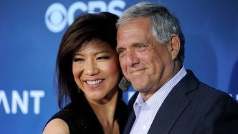"FILE - In this June 16, 2014 file photo, Les Moonves, right, president and CEO of CBS Corporation, and his wife Julie Chen pose together at the premiere of the CBS science fiction television series ""Extant"" in Los Angeles. Chen returned to television with an unusual sign-off days after her husband, Les Moonves, resigned as CBS CEO following sexual misconduct allegations.  The 48-year-old ended Thursday, Sept. 13, 2018  ""Big Brother"" broadcast by saying, ""From outside the 'Big Brother' house, I'm Julie Chen Moonves. Good night."" Usually, she just says ""Julie Chen.""   (Photo by Chris Pizzello/Invision/AP, File)"