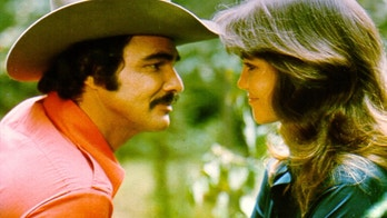 1977:  Actors Burt Reynolds and Sally Field in the film 'Smokey and the Bandit'. (Photo by Michael Ochs Archives/Getty Images)