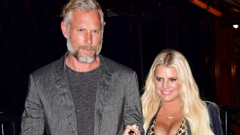 NEW YORK, NY - JULY 31:  Eric Johnson and Jessica Simpson seen on the streets of Manhattan on July 31, 2018 in New York City.  (Photo by James Devaney/GC Images)