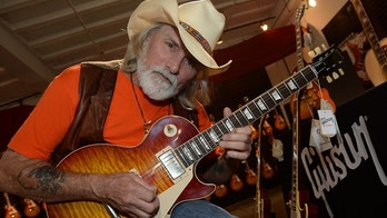 NASHVILLE, TN - MAY 19:  Recording Artist Dickey Betts at the press confrence for the Gibson Custom Southern Rock tribute 1959 Les Paul at the Gibson Guitar Factory on May 19, 2014 in Nashville, Tennessee.  (Photo by Rick Diamond/Getty Images for Webster PR)