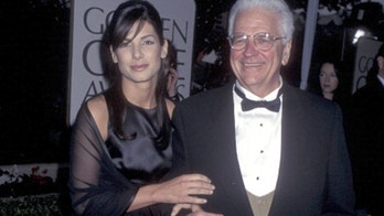 Actress Sandra Bullock and father John Bullock attend the 53rd Annual Golden Globe Awards on January 21, 1996 at Beverly Hilton Hotel in Beverly Hills, California. (Photo by Ron Galella, Ltd./WireImage)
