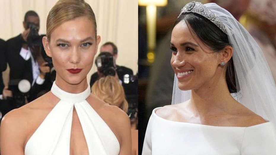 Karlie Kloss says Meghan Markle's Givenchy gown is her wedding dress inspiration