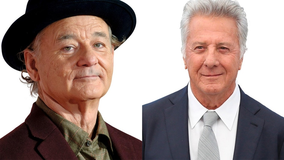 """Bill Murray, left, called fellow actor Dustin Hoffman, right, a """"really decent person."""""""