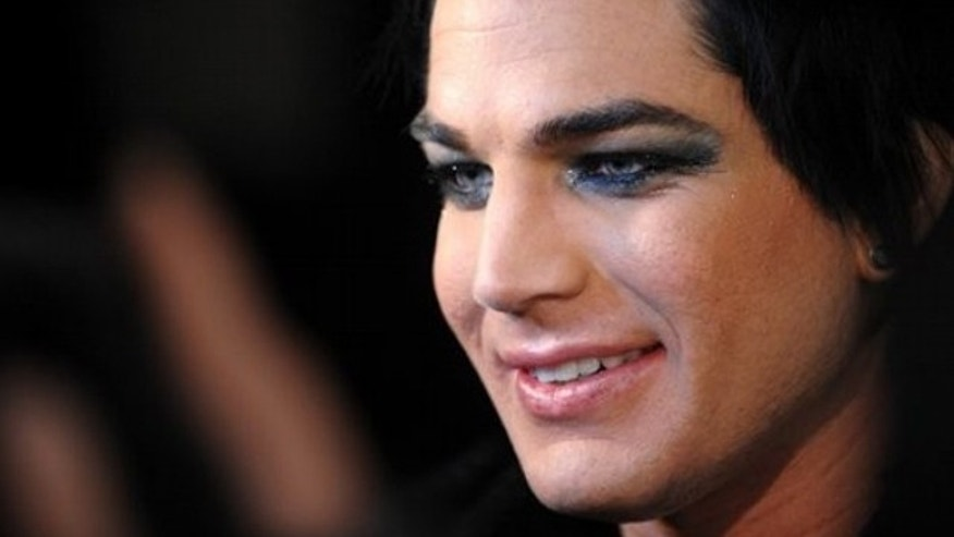 Singer Adam Lambert attends the launch party for Vevo, a premium music video and entertainment experience, created by Universal Music Group, Sony Music Entertainment and YouTube, in New York, on Tuesday, Dec. 8, 2009. (AP Photo/Peter Kramer)