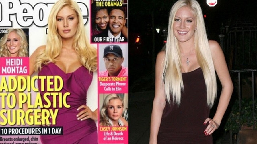 The Many Faces - and Bodies - of Heidi Montag