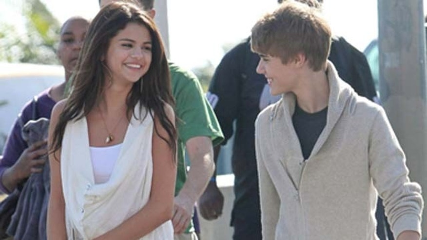 Feb., 6, 2010: Teen stars Justin Bieber and Selena Gómez, who have been downplaying rumors of a romance for quite some time, spend the day together in Santa Monica, Calif.