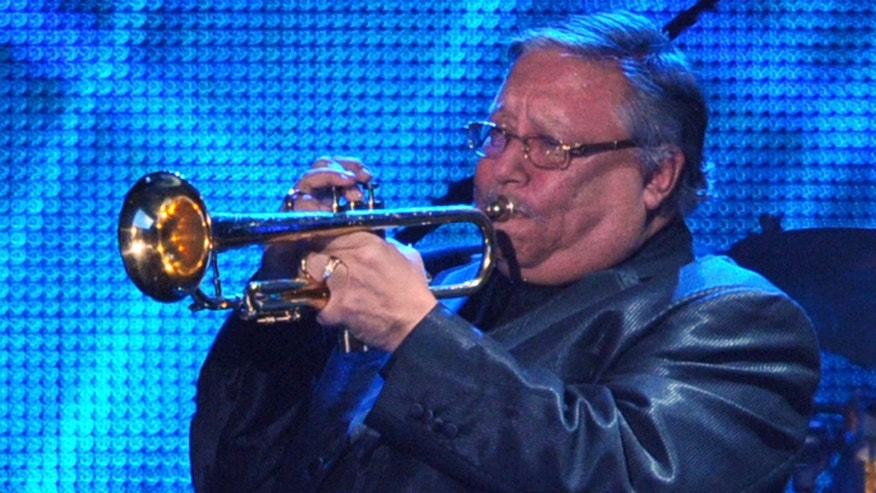 LOS ANGELES, CA - FEBRUARY 11:  Recording Artist Arturo Sandoval performs onstage at the 2011 MusiCares Person of the Year Tribute to Barbra Streisand held at the Los Angeles Convention Center on February 11, 2011 in Los Angeles, California.  (Photo by Alberto E. Rodriguez/Getty Images)