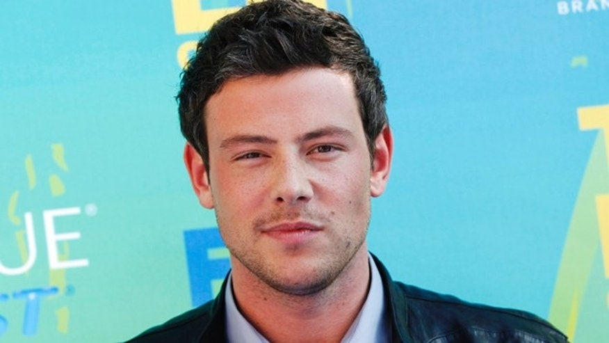 Actor Cory Monteith arrives at the Teen Choice Awards in Los Angeles August 7, 2011. REUTERS/Danny Moloshok (UNITED STATES - Tags: ENTERTAINMENT HEADSHOT) - RTR2PPK3