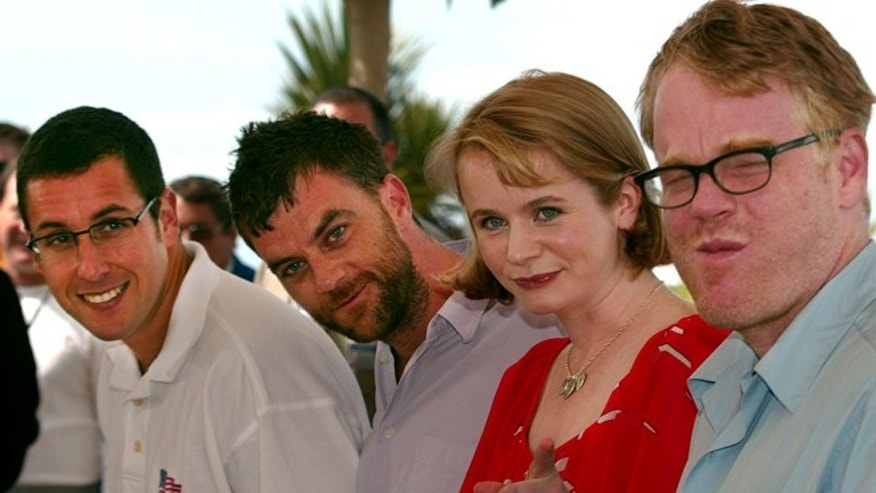 American director Paul Thomas Anderson (2nd L), American actor Philip
