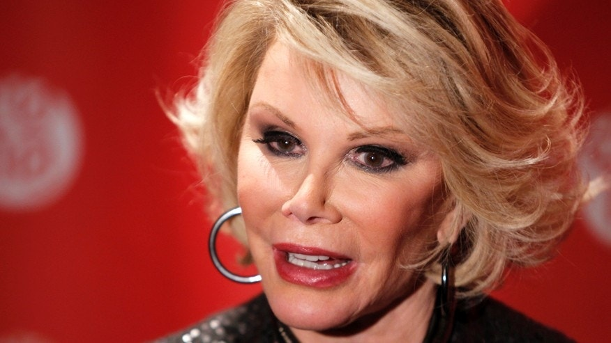 Comedian Joan Rivers.