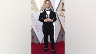 Adam Rippon arrives at the Oscars on Sunday, March 4, 2018, at the Dolby Theatre in Los Angeles. (Photo by Jordan Strauss/Invision/AP)
