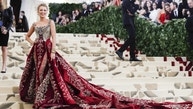 """Actor Blake Lively arrives at the Metropolitan Museum of Art Costume Institute Gala (Met Gala) to celebrate the opening of """"Heavenly Bodies: Fashion and the Catholic Imagination"""" in the Manhattan borough of New York, U.S., May 7, 2018. REUTERS/Carlo Allegri - HP1EE5806M4MP"""