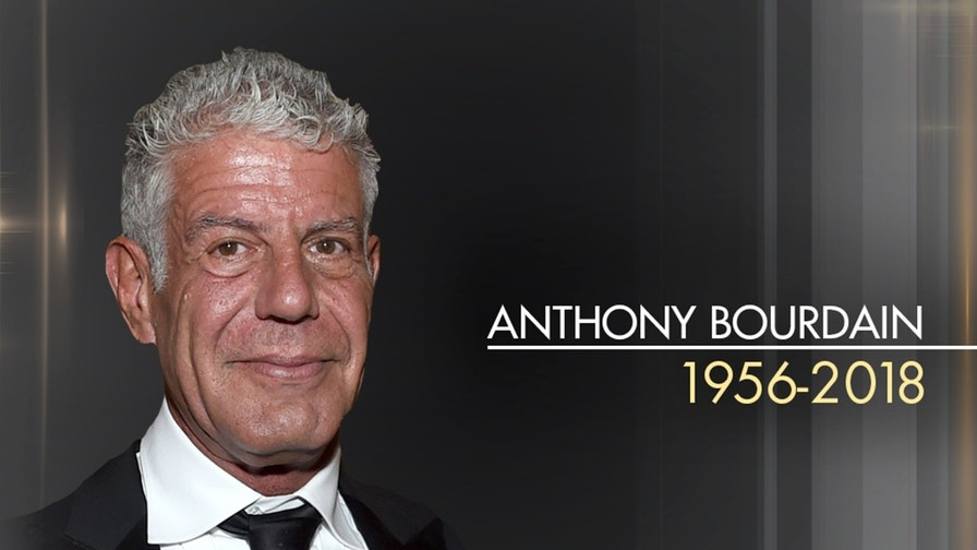 Anthony Bourdain's life in pictures