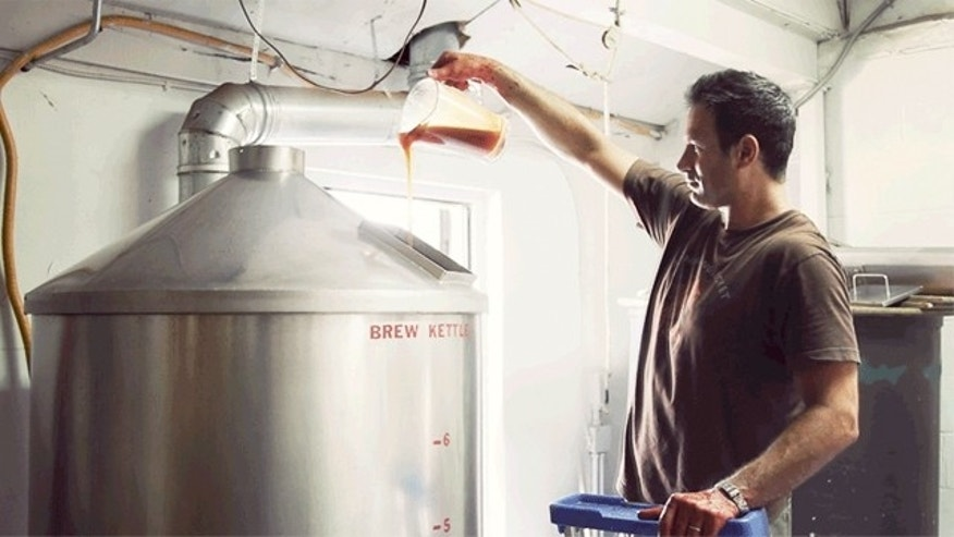 Making DogFish Head's gluten-free beer, Tweason'ale.