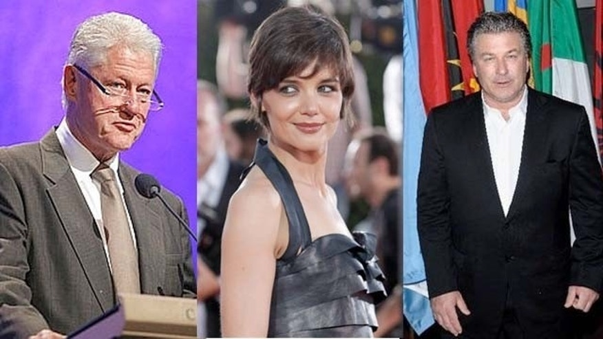 Bill Clinton, Katie Holmes and Alec Baldwin have all declared themselves vegans.