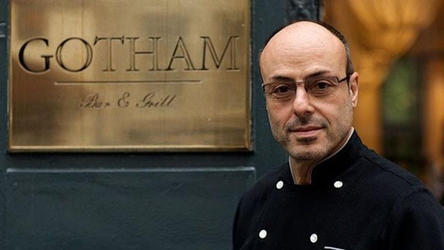 New York chef Alfred Portale from the Gotham Bar and Grill.