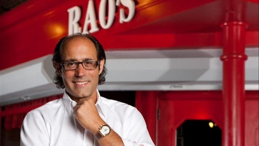 Frank Pellegrino, one of the owners of Rao's Italian restaurant in New York City.