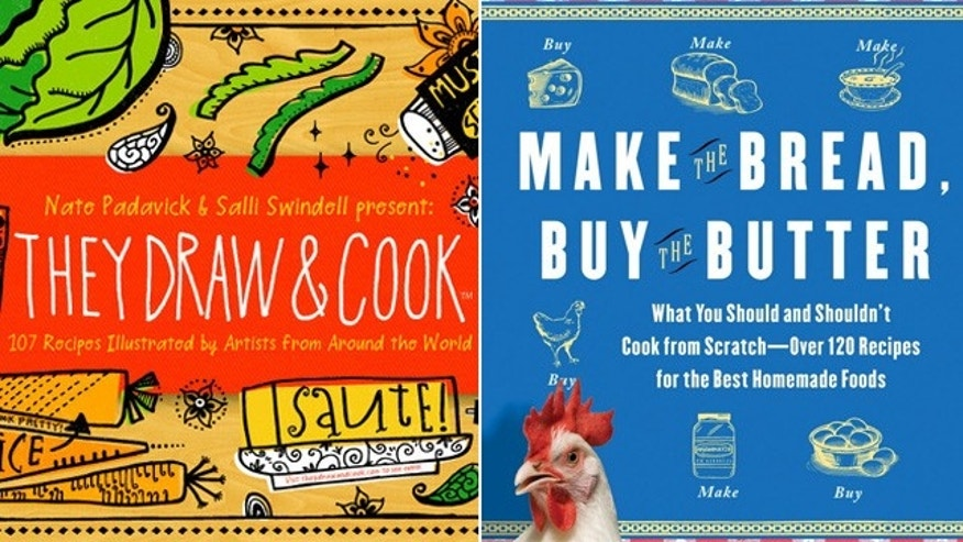 They Draw, They Cook and The Tipsy Baker's (aka Jennifer Reese) Bake the Bread, Buy the Butter are just two blog that turned cookbooks in 2011.