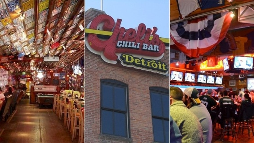 Check out some of the best sports bars, including Barney's Beanery in Westwood, Calif, Detroits's Cheli's Chili Bar and Major Goolsby's in Milwaukee.