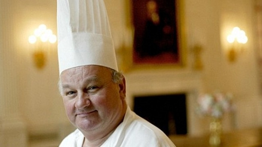 Former White House pastry chef Roland Mesnier.