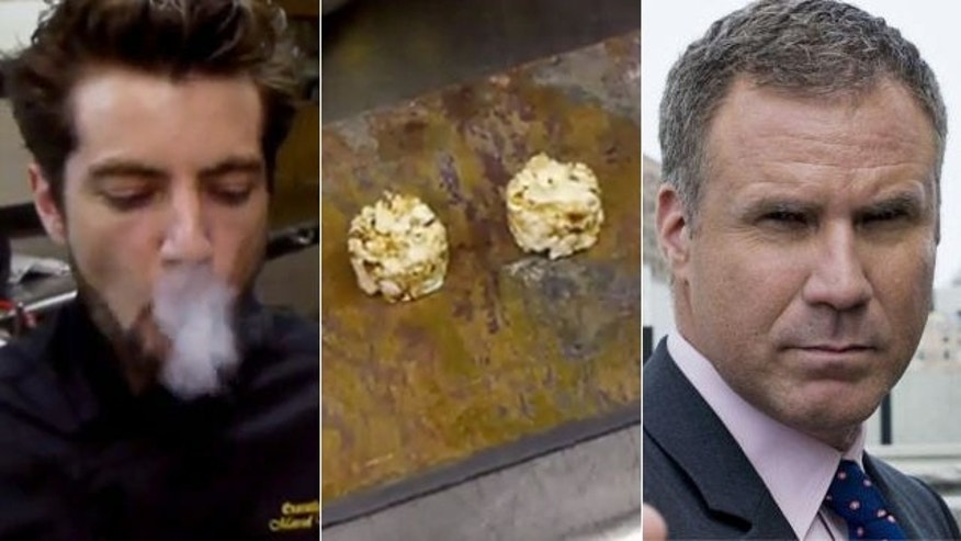 Chef Marcel Vigneron wants to feed funny man Will Farrell 'The Dragon's Breath' -- a smokin' rice cake snack.