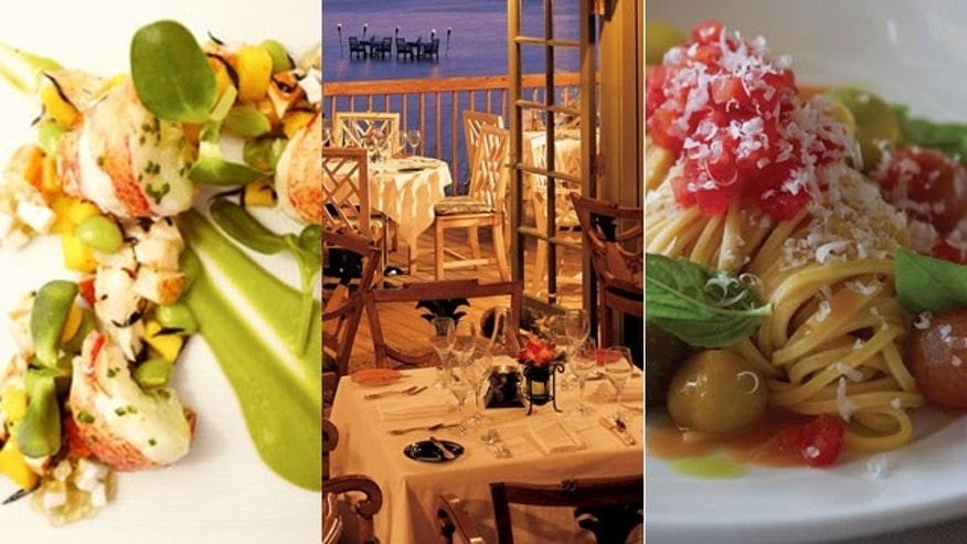 At restaurants like Andrea, Auberge du Soleil, and the Dining Room at Little Palm Island, you can get delicious food and a romantic environment.