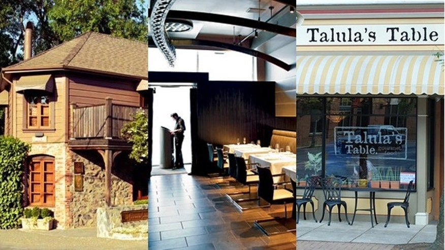 French Laundry in Napa Valley,  Next in Chicago and Talula's in Philadelphia.