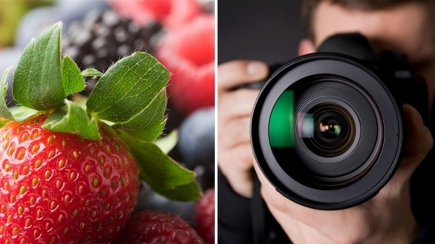 Photographers have a few tricks up their sleeves to make food look delicious and delectable.